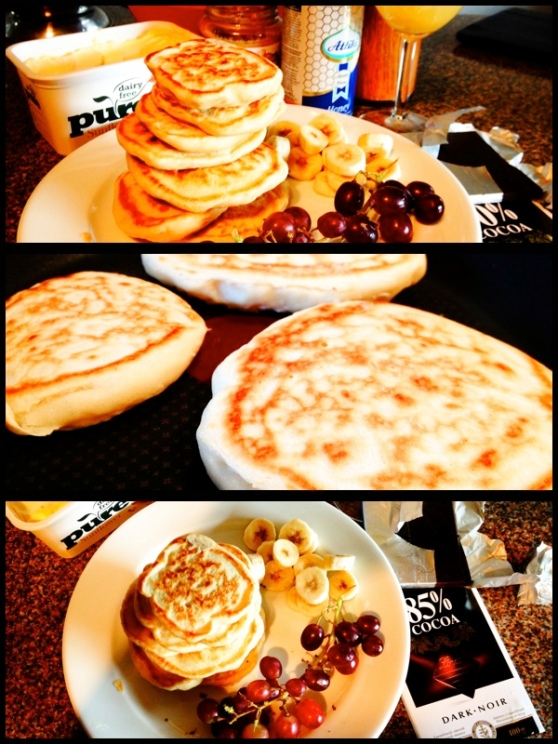 Pancakes Collage